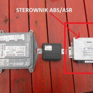 STEROWNIK ABS/ASR MAN L2000 153,163,224LE 180,220