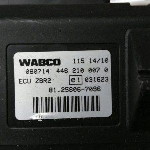 WABCO 4462100070 ZBR 2 MAN 81258067096