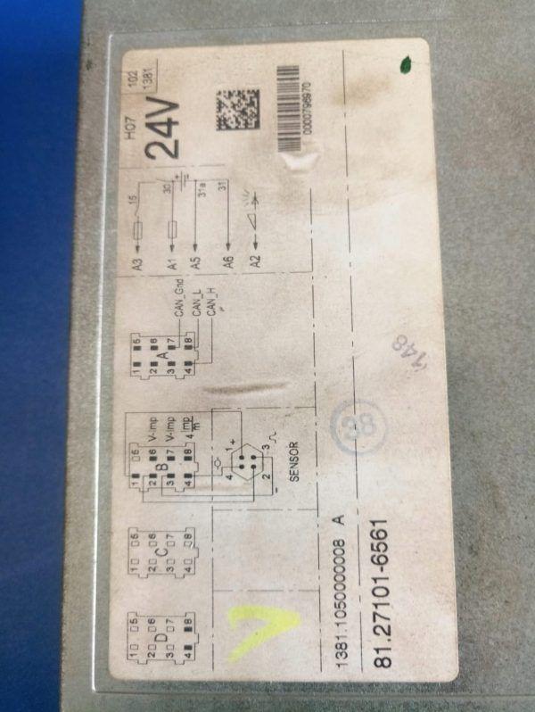 81271016561 TACHOGRAF CYFROWY MAN TGX,TGA,TGL