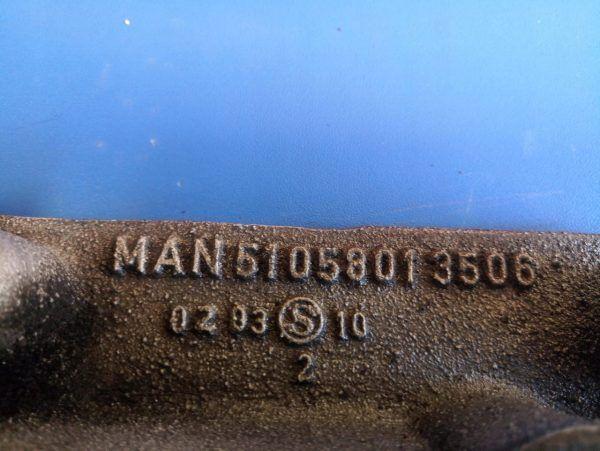 51058013506 PODSTAWA MISKI OLEJOWEJ MAN TGL D0834
