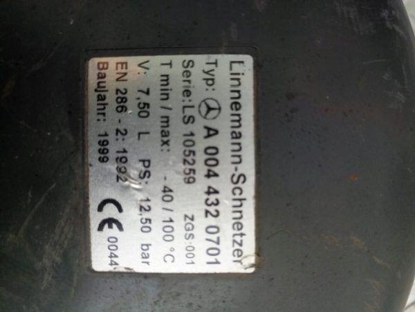 A 801400373 BUTLA POWIETRZA 7.5L. ATEGO,ACTROS