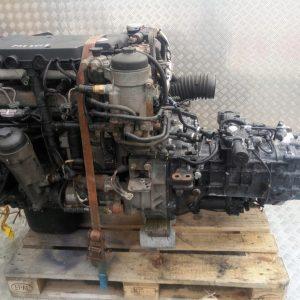 Silnik MAN TGL 8.220 EURO 5 D0834 LFL 65 2012 Rok