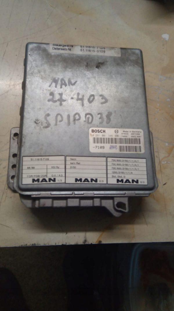 Sterownik Komputer silnika MAN 0281001346