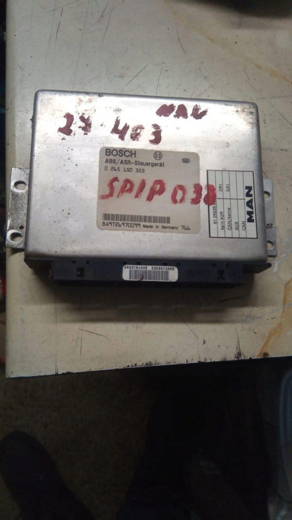 Sterownik ABS ASR MAN F2000 0265150353