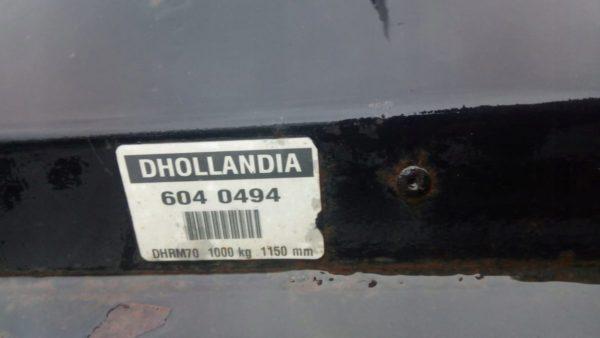 Winda załadowcza składana DHOLLANDIA 6040494
