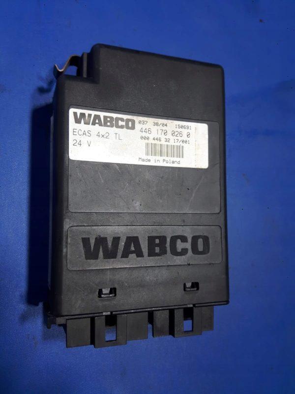 Sterownik WABCO ECAS 4x2 TL 4461700260 MB Atego