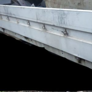 290 cm x 50 cm Burta Aluminiowa