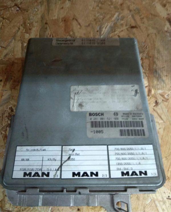 Sterownik Bosch 0281001521 MAN 51116157146
