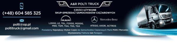 Przewód Rura Intercoolera Mercedes Atego