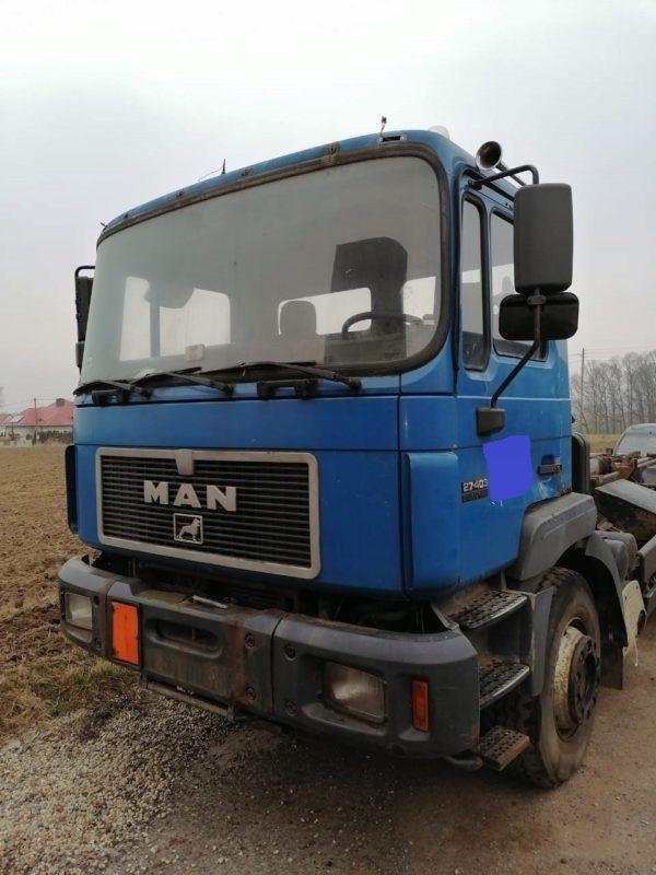 Kabina MAN F2000 budowlana