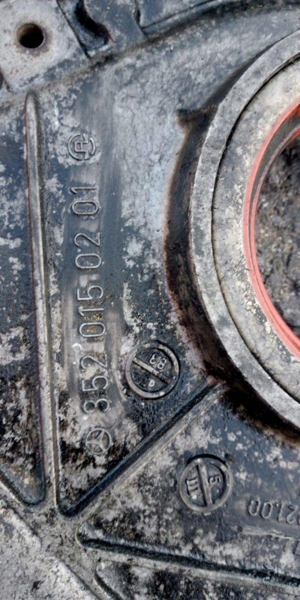 3660150202 Obudowa rozrządu Mercedes OM364,366