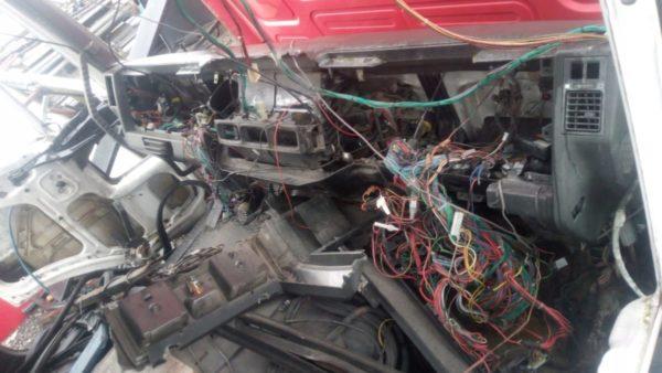 Instalacja kabiny iveco Eurocargo