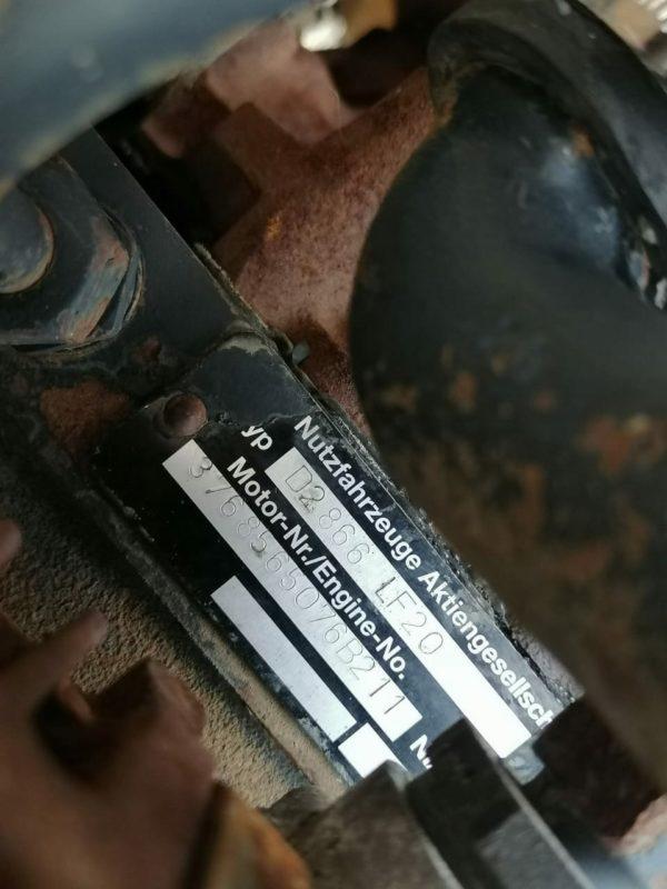 Silnik D2866 LF20 MAN F2000