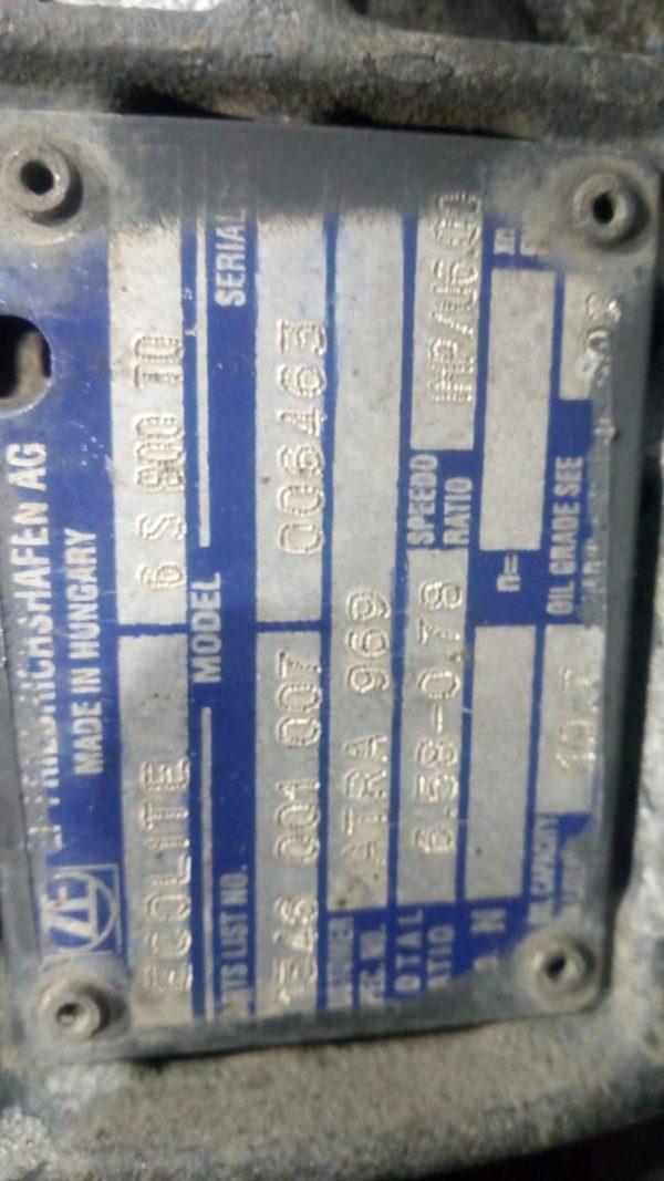 DAF Skrzynia Biegów ZF 6 S 800