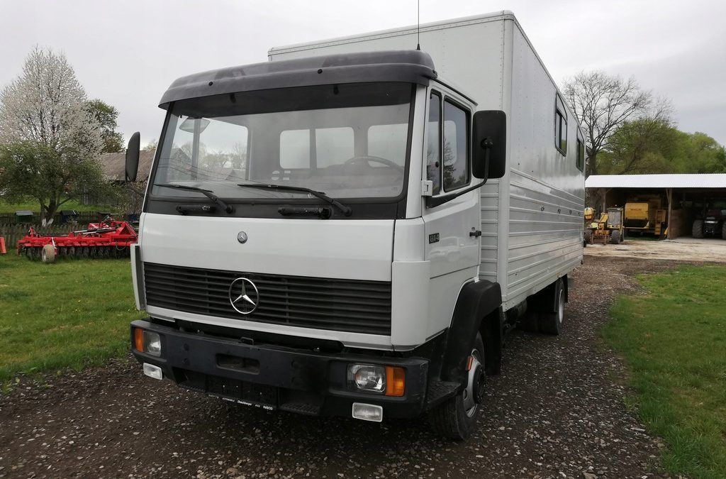 Mercedes 814 dane techniczne
