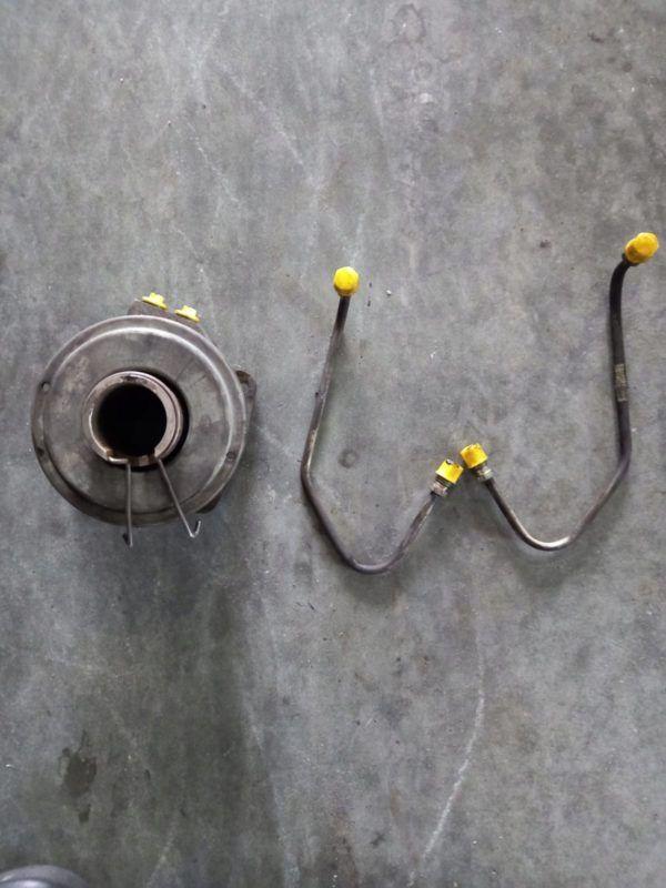 MAN 8.163 L2000 SACHS wysprzęglik rurki przewody