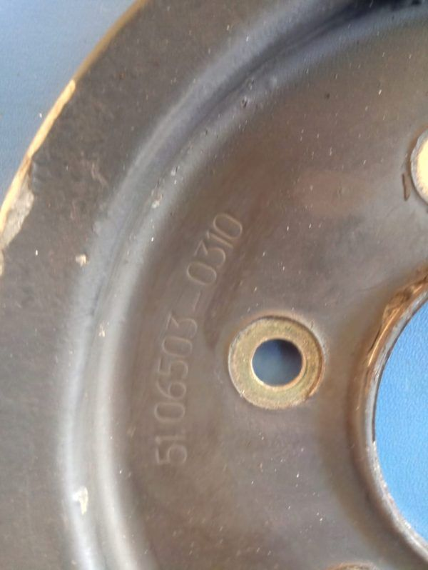 PULLEY WATER PUMP MAN L2000 LE 51065030310