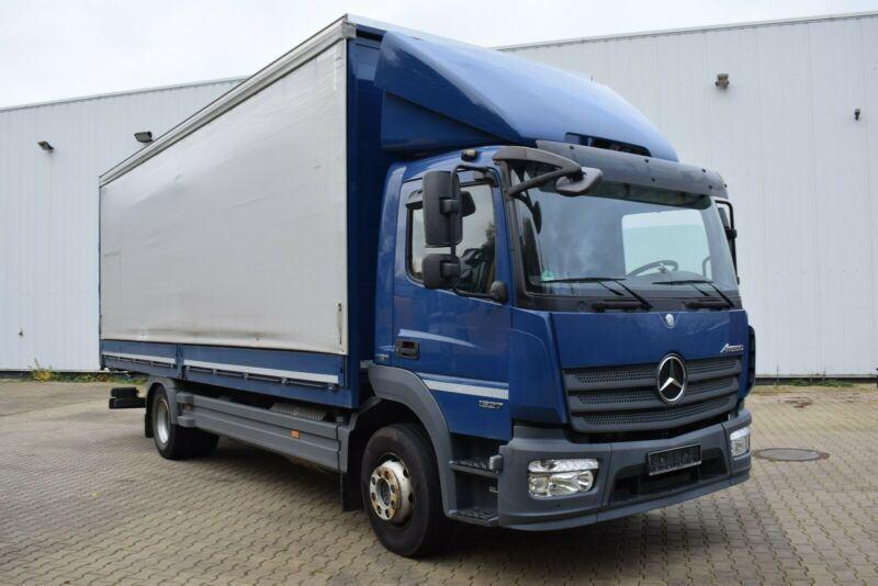 Mercedes-Benz Atego 1327 K dane techniczne – propozycja pochodząca z fabryki Daimler AG z napędem na jedną oś