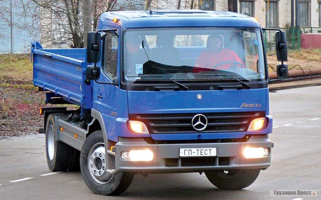Mercedes-Benz Atego 1518 K dane techniczne – ekonomiczna propozycja z wydajnym silnikiem